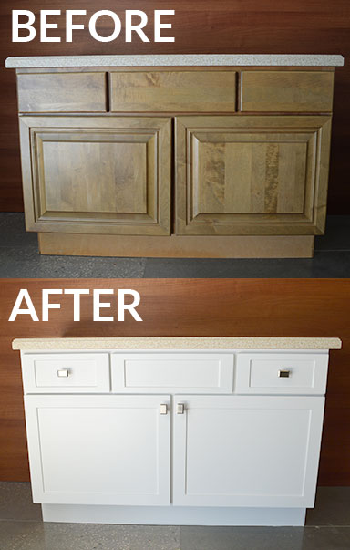 Reface Bathroom Vanity